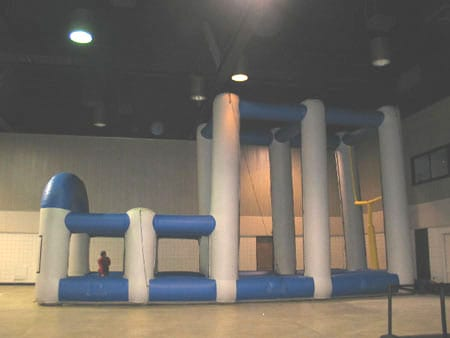 3 point kick inflatable 1