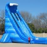 Blue Crush giant water slide rental - pic 4