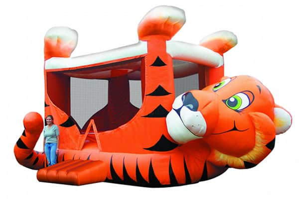 giant tiger bounce house