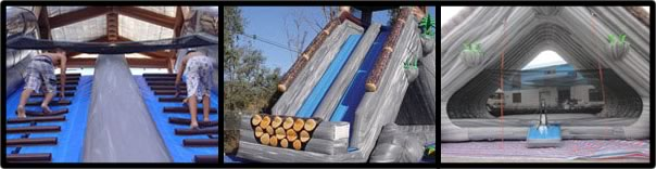 Log Jammer Extreme Water Slide Rental