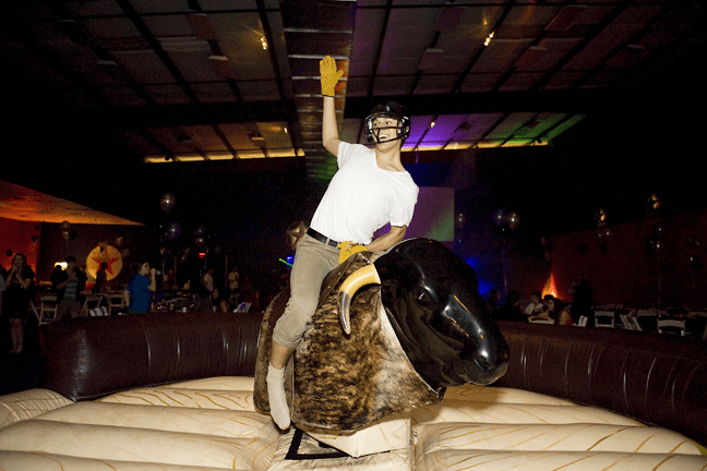 mechanical bull rental - Dallas