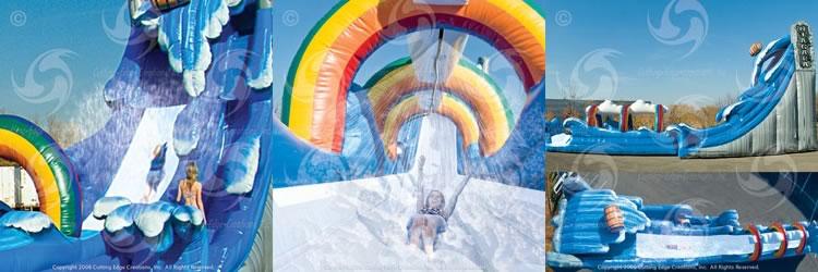 Niagara Falls Water Slide collage