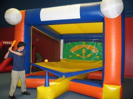 t-ball inflatable game rental