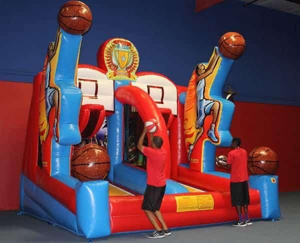 Shooting Stars Inflatable Basketball Game Rental