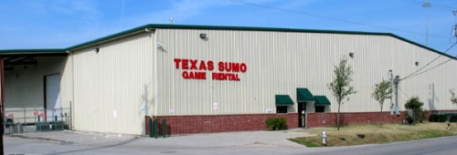 Texas Sumo Gamer Rental Building