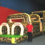 60′ Camouflage Obstacle Course