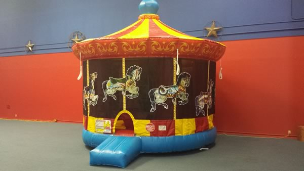 carousel bounce house