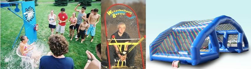 childrens parties - water games