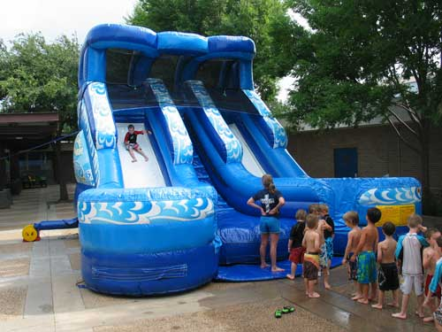 double splash water slide rental - pic 3