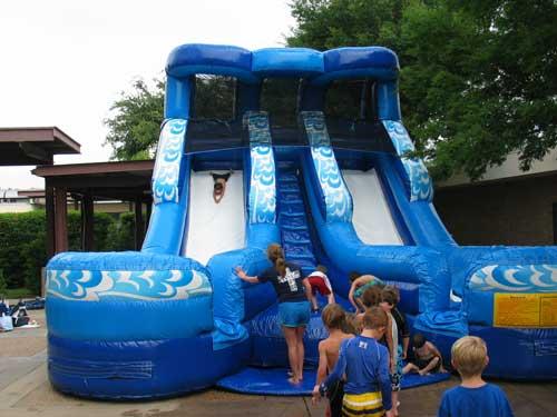 double splash water slide rental - pic 4