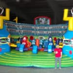 inflatable football themed party rentals