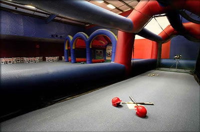 inflatable batting cage rental
