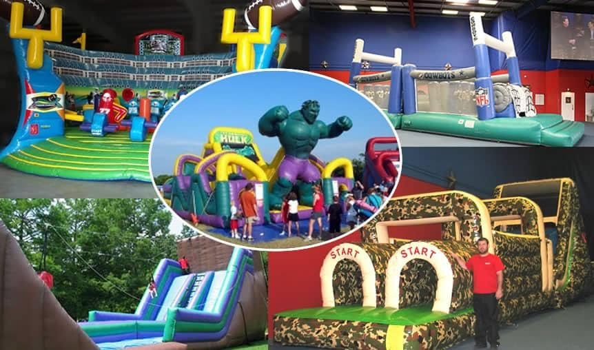 112b017d9d937d Inflatable Rentals for Parties and Events from Texas Sumo - Dallas, TX