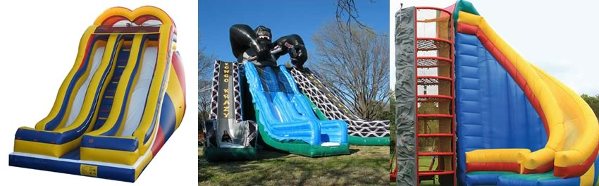 inflatable slide rental- children's parties