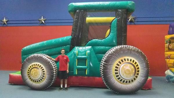 john deere tractor slide