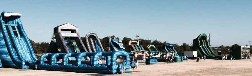 Inflatable Water Slide Parties