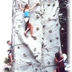 Ultimate  24 Ft Power Portable Rock Climbing Wall