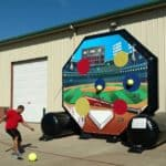 Soccer Darts-Baseball-Inflatable Game