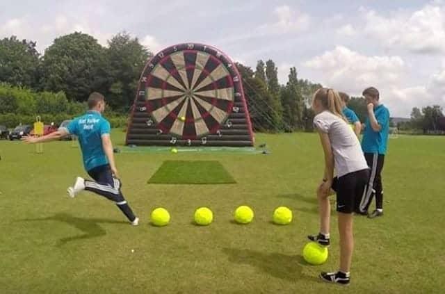 soccer darts game rental