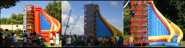 Spider Climb Inflatable Slide For Rent Dallas Party Rental