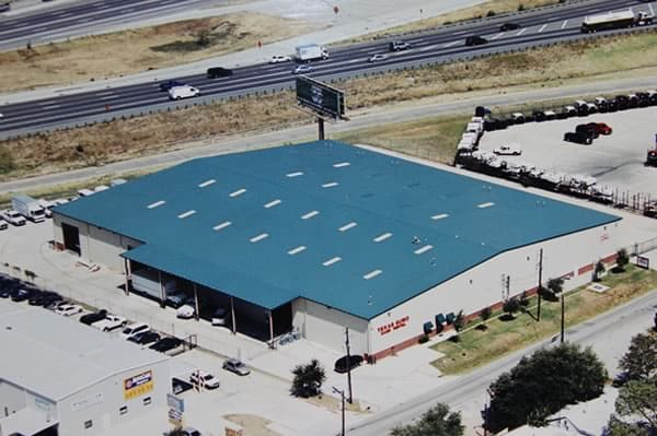 Texas Sumo - Aerial View of Bldg off I-635