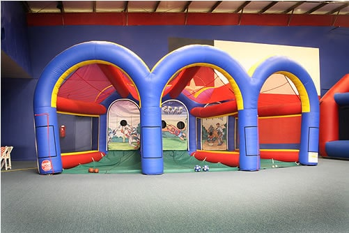 triple play sports cage - party rental
