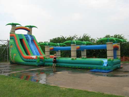 tropical breeze water slide rental - pic 2