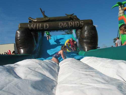 wild rapids extreme water slide