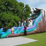 Wild Rapids Inflatable Water Slide
