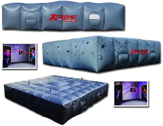 xtreme laser tag features