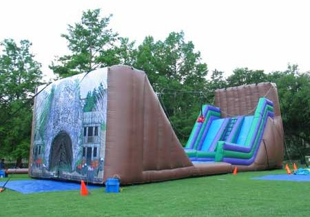Dry Gulch Zipline Obstacle Course Dallas Party Rental
