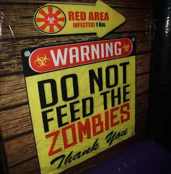 zombie maze laser tag