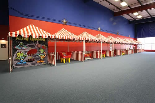 Carnival Tents rental & Carnival Tents for Rent - Dallas TX - Texas Sumo Game Rental