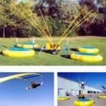 quad pod extreme trampoline