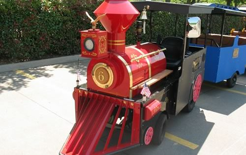 Cash For Cars Dallas >> The Texas Star Express - Trackless Train for Rent - Dallas Party Rental