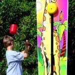 Giraffe Kiddie Striker – Carnival Game Rental