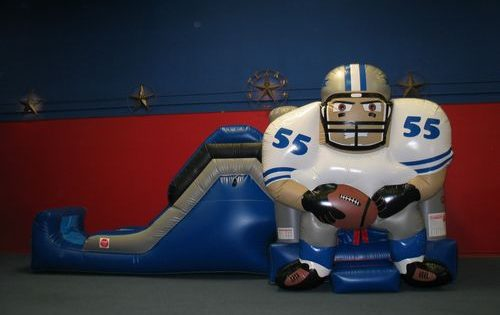 Dallas Cowboy Funhouse Bounce House With Slide Dallas