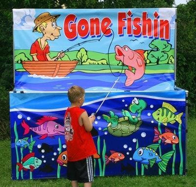 Gone Fishin - Carnival Game Rental