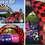 Race Car themed children's party