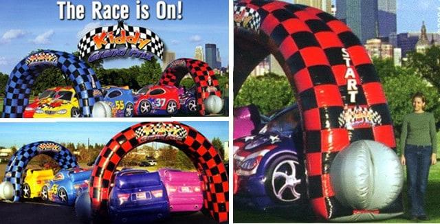 Race Car themed children's party