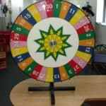 Tabletop Spinning Prize Wheel – Carnival Game Rentals