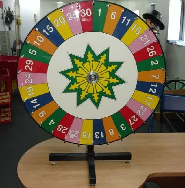 Tabletop Spinning Prize Wheel u2013 Carnival Game Rentals & Tabletop Spinning Prize Wheel - Carnival Game Rentals