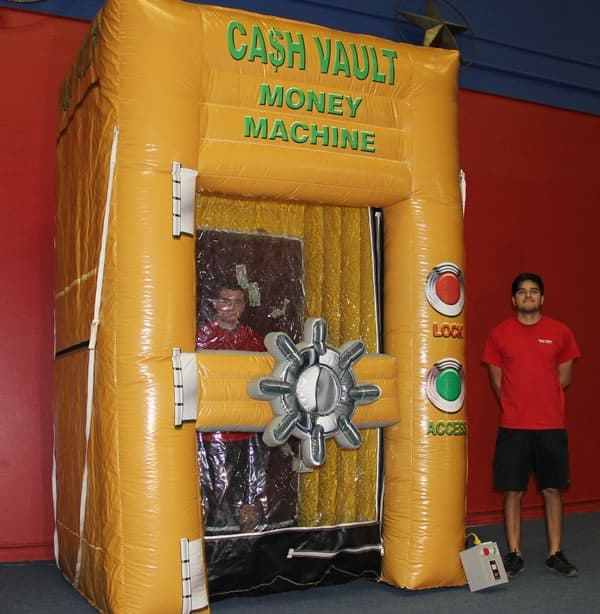 The Inflatable Cash Vault Dallas Party Rental