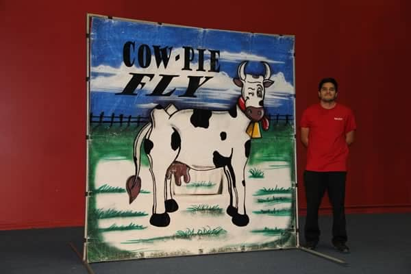 cow pie carnival game