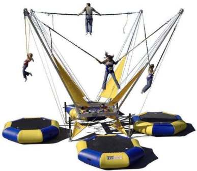 Euro Bungee or Bungy Trampoline Rental