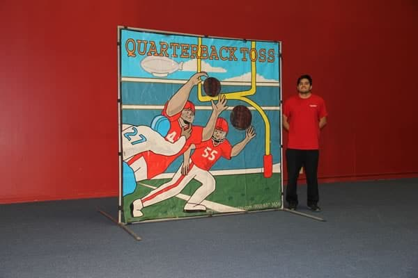 football toss carnival game for rent