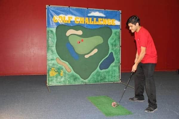 golf frame game rental
