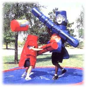 Medieval Bout Jousting Game Dallas Party Rental