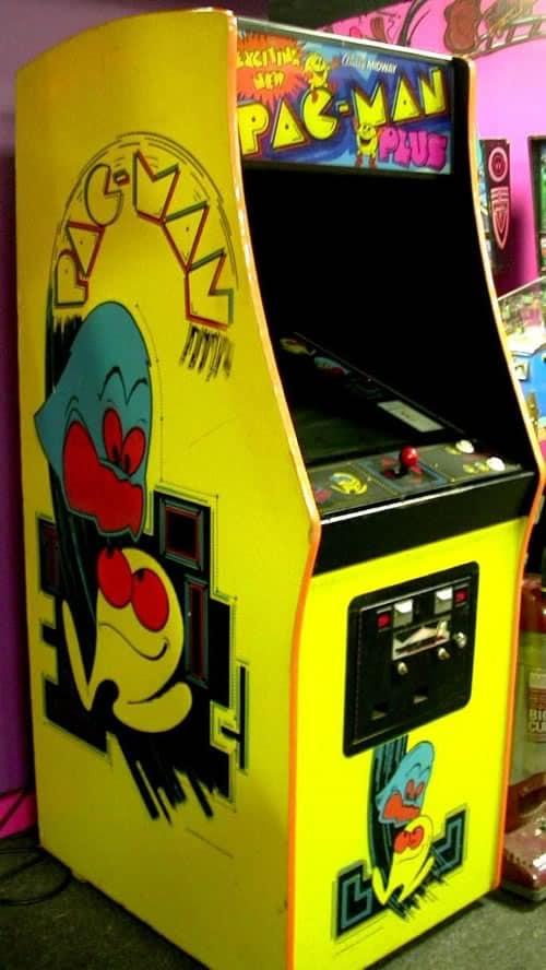 original pacman video game - party rental