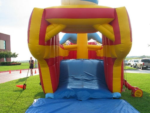 Pirate Ship - Bounce House - Dallas